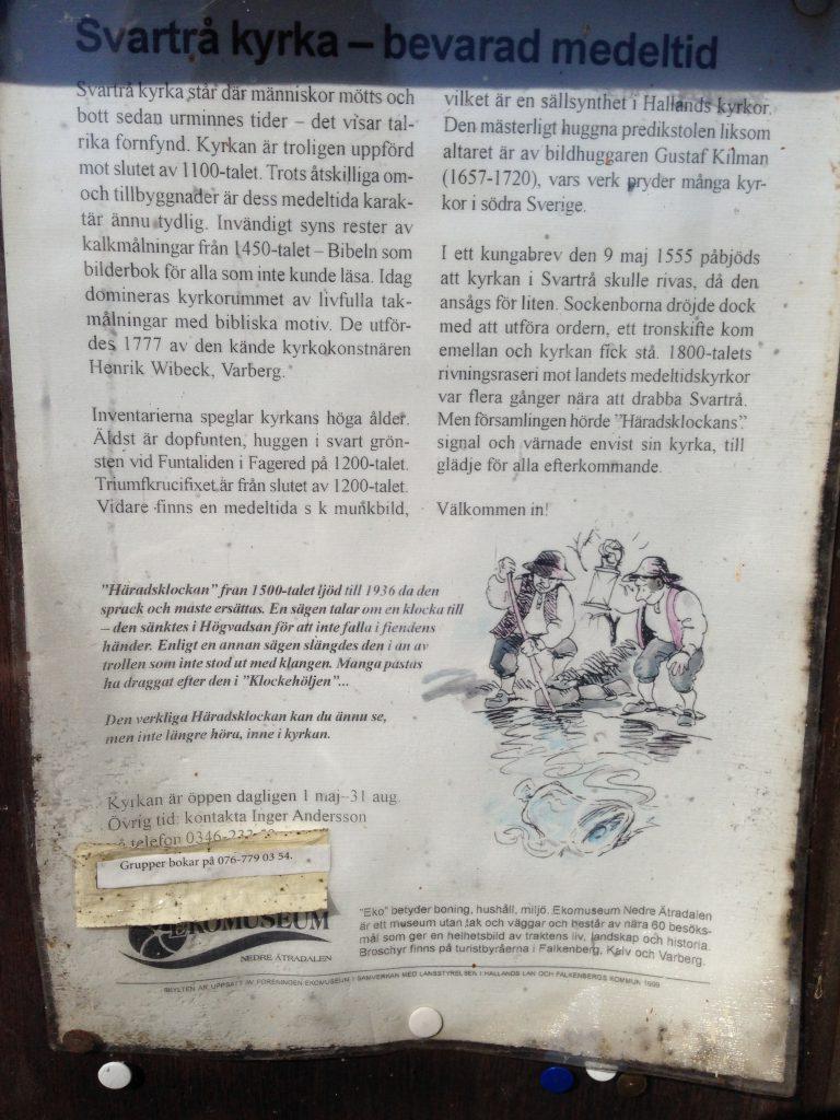 Svartrå Kyrka - Halland